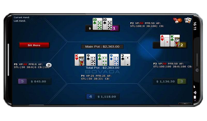 Bovada Poker App